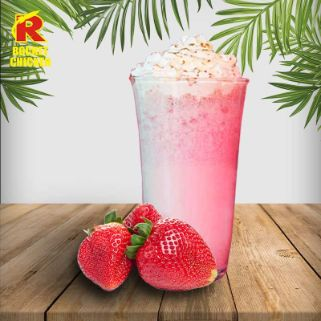 Strawberry Milkshake Float